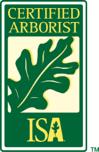 certified arborist ISA sign